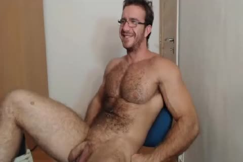 [cam] Bigdudex A kinky hairy Daddy Shows wazoo And
