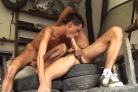 Long-hair gay with sexy gays