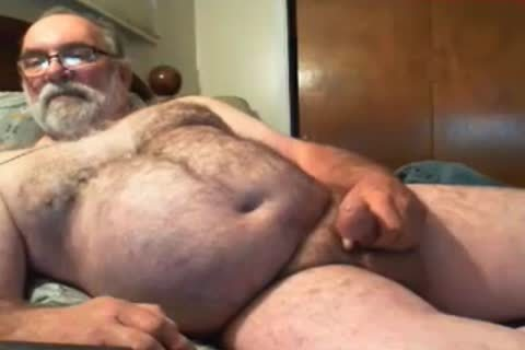 old man Jim sperm On cam