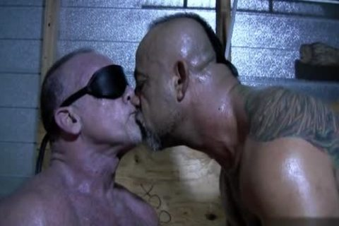 monstrous dick Bear oral And cumshot