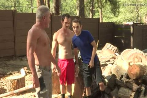 excited twink nails His brawny Stepgrandpa And Stepdad